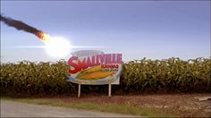 1989 Jonathan and Martha doing meteor shower. Countryside Of Smallville Kansas ( Smallville )