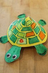Kindergarten The Alphabet Activities: Turtle Craft
