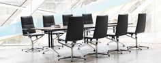 Conference chair Sola - executive chair! In typical Wilkhahn tradition, conference chair Sola fuses innovative comfort with crisp design and a classy app...