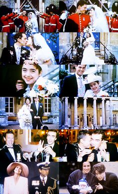 Happy endings of Four Weddings And A Funeral