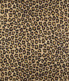 Ralph Lauren Caledonia Leopard Linen Bamboo Fabric