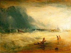 Joseph Mallord William Turner, Lifeboat and Manby - Google Search