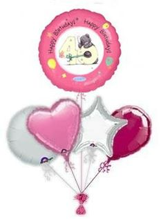 """Send balloons by post to brighten up some ones day. Put a smile on their face with unique lovely """"Me To You"""" birthday balloons. Why not make it a day to remember with our balloon gift ideas! Send Balloons, Helium Balloons, 30th Birthday Balloons, 21st Birthday, Balloon Delivery, Balloon Gift, Balloon Bouquet, Christmas Ornaments, Holiday Decor"""