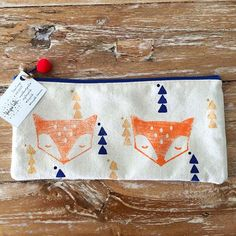 """We are all different but there is something kind of fantastic about that, isn't there"" - Fantastic Mr. Fox. Just a little reminder for this #motivationmonday, everyone rocks the way they are!! Featuring the Fox Pencil Case/Makeup bag"