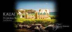 カウアイ島グランドハイアットカウアイのケオネロアベイウエディング写真