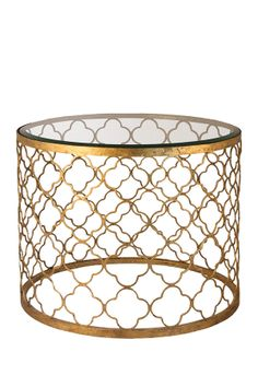 Cute Gold Side Table  - Anky <3