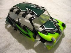 Custom Painted Mini Cooper body F/S - R/C Tech Forums