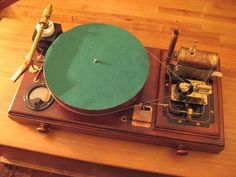 Arduino based record player