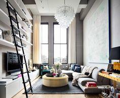 Un loft dans une ancienne imprimerie new yorkaise - PLANETE DECO a homes world