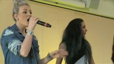 Perrie Edwards sing gif ! My work.