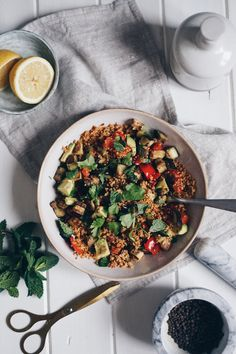 Lehký kuskus s grilovanou zeleninou — Foodlover Kung Pao Chicken, Curry, Cooking, Ethnic Recipes, Food, Kitchen, Curries, Essen, Meals