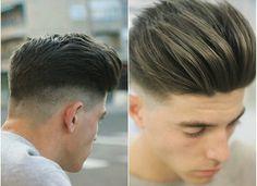 Pinterest: @hnnhBY Latest Haircuts, Haircuts For Men, Medium Hair Styles, Short Hair Styles, Gents Hair Style, Men Hair Color, Hair Game, Fade Haircut, Hair And Beard Styles