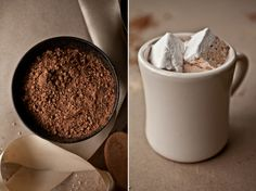 Maple hot chocolate by not without salt.
