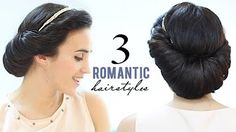 How To Do a Rolled Updo | Prom Hairstyles | Pretty Hair is Fun - YouTube