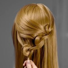 Follow @hair_and_coffee #hair_and_coffee - #Repost @5.min.crafts • • • • • Easy hairstyles to get you out of your hair routine.… Braid Hairstyles, Short Hairstyles, Simple Hairstyles, Hairstyle Ideas, Wedding Hairstyles, Pretty Hairstyles, Hair Upstyles, Natural Hair Styles, Long Hair Styles