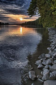 ✯ Fraser River At Sunset - British Columbia, Canada - by Scott Holmes