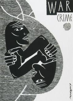 """""""War Crime"""" Luba Lukova, 1994"""