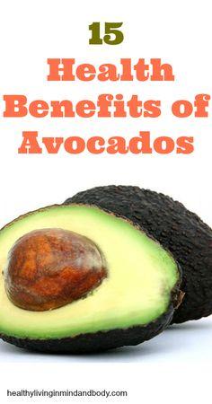 15 Health Benefits of Avocados
