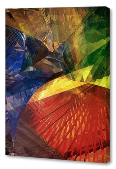 'Jeweled Seasons' by Scott J. Menaul Graphic Art on Wrapped Canvas
