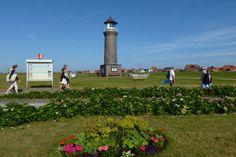 """Ein ganz kleines Leuchtfeuer, das heute allerdings nicht mehr in Betrieb ist, findet man auf der ostfriesischen Insel Juist: Den Leuchtturm """"Memmertfeuer""""."""