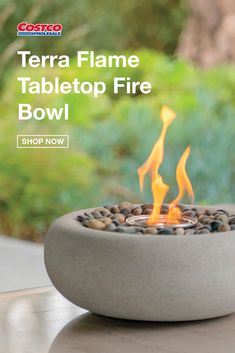 Outdoor Fire, Outdoor Areas, Outdoor Living, Outdoor Decor, Backyard Fireplace, Backyard Patio, Backyard Landscaping, Tabletop Fire Bowl, Small Balcony Decor