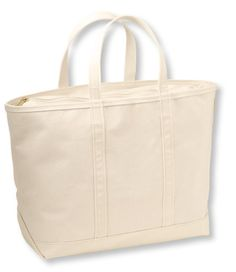 Solid Color Boat and Tote, Zip-Top: Tote Bags   Free Shipping at L.L.Bean
