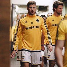 Steven Gerrard played 45 minutes on his LA Galaxy debut #Liverpool #Gerrard #LAGalaxy