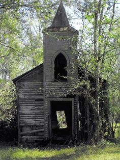 This little church was once called St. Luke Baptist Church but nicknamed Little Zion.It was built by and for the African American slaves in 1883.The land was once part of the Cleona Plantation.It became abandoned in the early part of 1970.The pastor retired and the people started attending other local churches. Taken in Chackbay Louisiana.