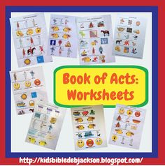 Acts Worksheets (All in One Place