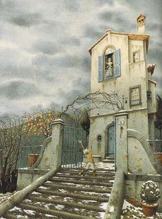 """The Adventures of Pinocchio"", Carlo Collodi / Roberto Innocenti Pinocchio, Jpg, 1940, Fairy Tales, Arabesque, Dibujo, Adventure Movies, Fairytail, Fairytale"