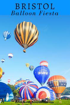 Read about the Balloon Fiesta in Bristol, England, United Kingdom. Travel in Europe. Bristol Balloons, Bristol Balloon Fiesta, Europe Travel Tips, Travel Advice, Travelling Europe, Travel Hacks, Travel Guides, Scotland Travel, Ireland Travel