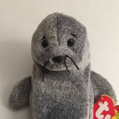 Ty Beanie Baby Slippery the Seal 5th Gen. Hang Tag Retired 1999  | eBay