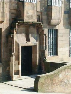 Glasgow School Of Art Architecture Details, Interior Architecture, Interior Design, Mackintosh Furniture, Mackintosh Design, Art Nouveau, Art Deco, Vienna Secession, Charles Rennie Mackintosh