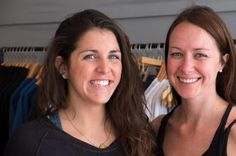 Martha's Vineyard, MA - Briana Endicott and Julie Samford opened the doors of Lululemon pop-up store on Friday; first sale was a pink headband.  Another Seasonal location = Pop-Up Store.