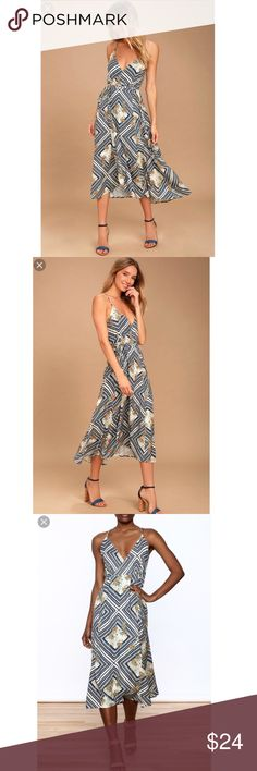 O'Neill LeeLee Dress NWT Your perfect wrap dress! 🚫🚫🚫PayPal or Trades. Price is FIRM unless bundled. Bundles are automatically discounted through Posh! O'Neill Dresses Midi