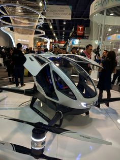 Ehang 184 - Personal flying car / drone. No pilots license required.