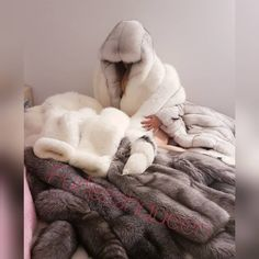 Hey, this post may contain adult content, so we've hidden it from public view. Fur Bedding, Fur Clothing, Fluffy Sweater, Fur Accessories, Fur Blanket, Fur Stole, Fox Fur Coat, Fur Fashion, Mantel