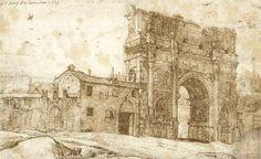 Gerard ter Borch Elder, Arch of Constantine