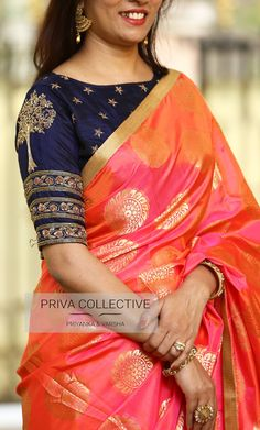 Sophisticated sleeveless blouses for saris Read info on -- Pattu Saree Blouse Designs, Fancy Blouse Designs, Traditional Blouse Designs, Stylish Blouse Design, Saree Trends, Designer Blouse Patterns, Fancy Sarees, Silk Sarees, Clothes For Women