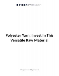 Global supplier of polyester fibre , industrial yarns and plastics in polyester, polypropylene and bicomponents.