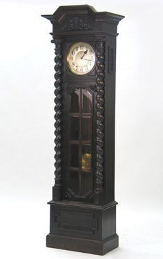 I will one day have a beautiful grandfather clock. Preferably one of Gothic (traditional that is) structure. Such as this one, minus the gold disc inside...silver would be much better.