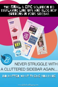 How to Show or Hide Certain Widgets on a Blog's Sidebar via @Julie Chenell DeNeen