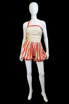 Claire McCardell Playsuit, c. 1945 Sun Collection