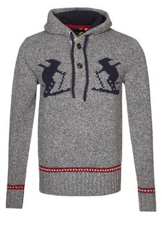 Pullover gris Calico Tommy Hilfiger