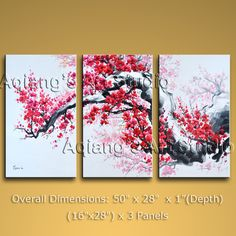 hand-painted art paintings on canvas. It is nicely done oil painting of Tree in Contemporary style. This painting is painted with great skill, masterful brush strokes by our talented artist. Modern Canvas Art, Large Canvas Wall Art, Contemporary Wall Art, Modern Art, Hand Painting Art, Oil Painting Abstract, Art Paintings, Abstract Art, Cherry Blossom Art