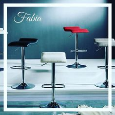 Gas-lift, adjustable height stools can be placed comfortably at bar or counter height. Whether it's a splash of fun into your everyday eating or strictly saved for entertaining guests, these stools are sure to be a It's Easy, Bar Stools, Backless, Kitchen, Red, Furniture, Design, Home Decor, Bar Stool Sports