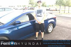 https://flic.kr/p/Tz3DCb | Happy Anniversary to Oscar on your #Hyundai #Elantra from Jennifer Edwards at Fenton Hyundai! | deliverymaxx.com/DealerReviews.aspx?DealerCode=H248