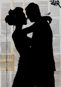 "Saatchi Art Artist Loui Jover; Drawing, ""that moment when"" #art"