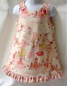 Aline Jumper Dress Whimsical Fairy Princess and by foofooandmore