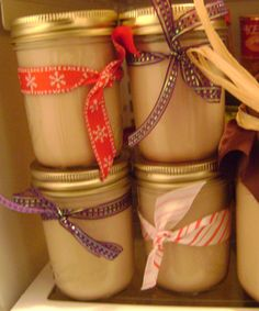 Last year some of my neighborhood friends got together and made a huge batch of homemade Baileys Irish Cream suitable for gift-giving. It was a fun night for all involved, and we came away with lo… Homemade Baileys, Homemade Irish Cream, Homemade Liquor, Homemade Gifts, Homemade Recipe, Baileys Irish Cream, Jar Gifts, Food Gifts, Homemade Christmas